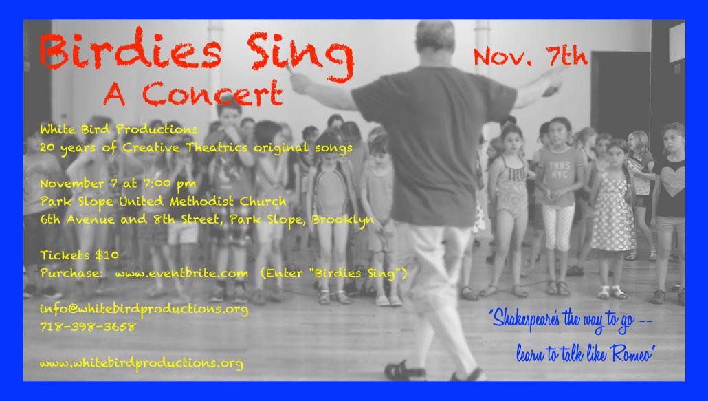 Birdies Sing - A Concert